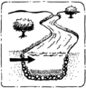 Icon water disposal groundwater recharge.png